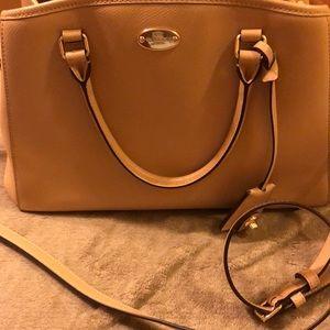 Coach Leather Satchel Bag